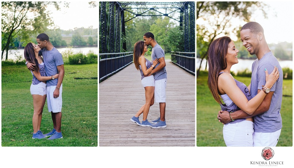 couple wearing matching outfits, jordans, gray outfits, black love, black wedding photographer, riverside park wedding engagment photos, sunset picnic engagement photos, picinic engagement inspiration, san diego wedding engagement photos, photojournalstic wedding photography