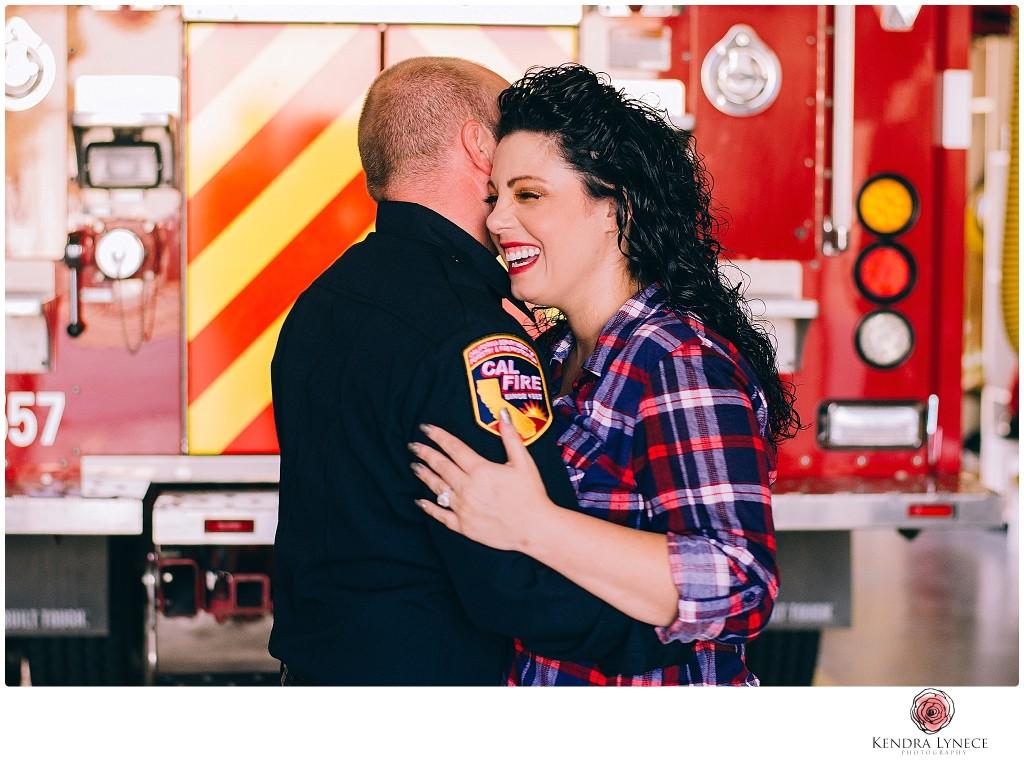 apple valley high desert wedding photography, california fireman, fireman