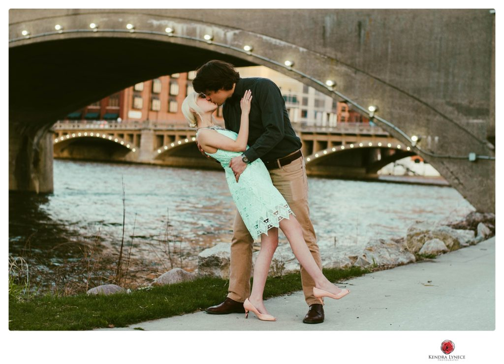 downtown grand rapids wedding engagement photo locations in west michigan