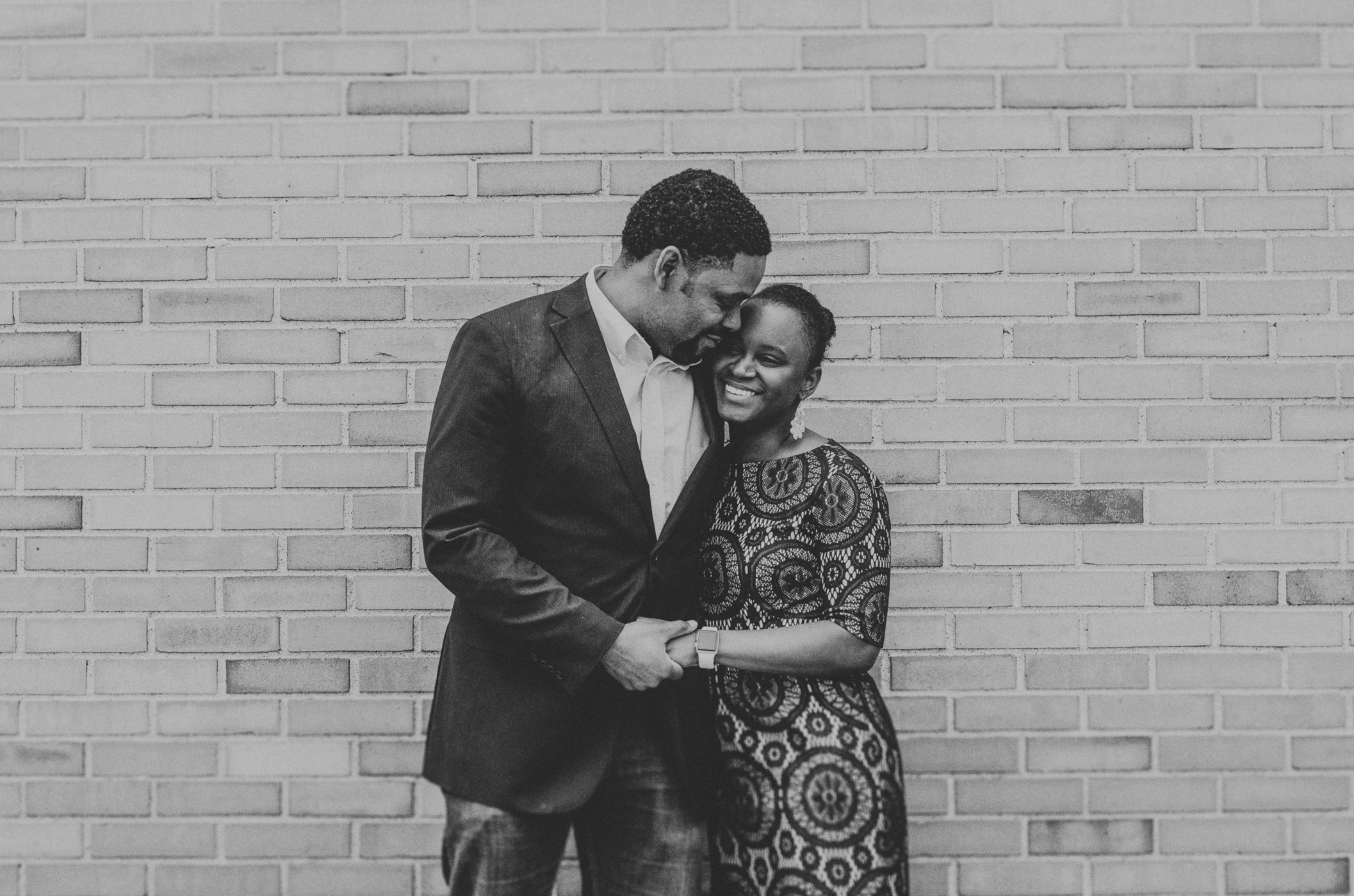 African American Engagement Photographer  at the GRAM