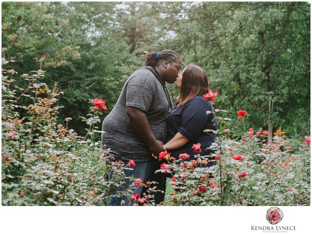 during storm France Park Lansing Michigan wedding engagement photos