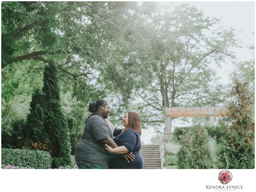fall during storm Frances Park Lansing Michigan wedding engagement photographers