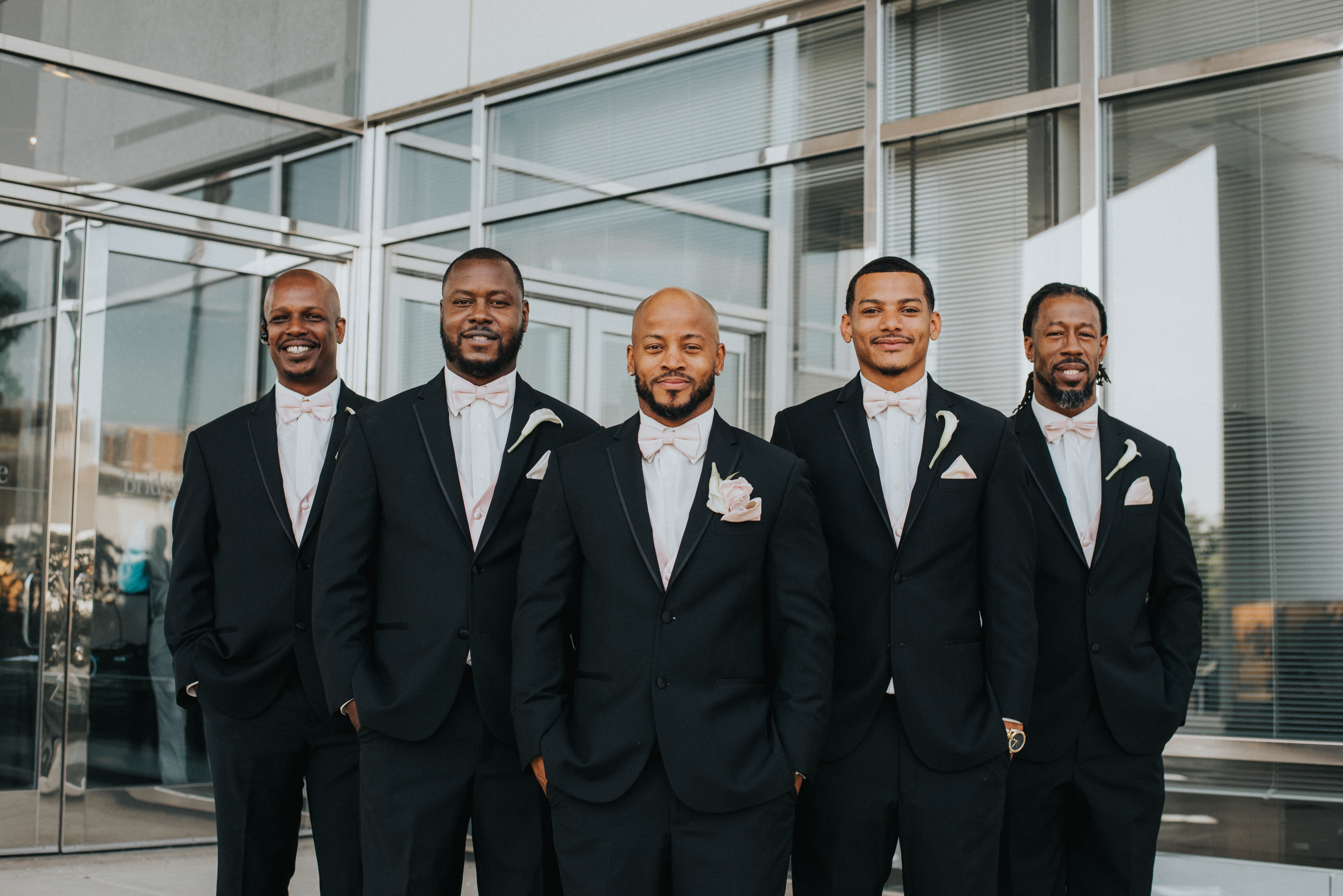 Groom and Groomsmen at Bridge Water Place Wedding by Best Africa