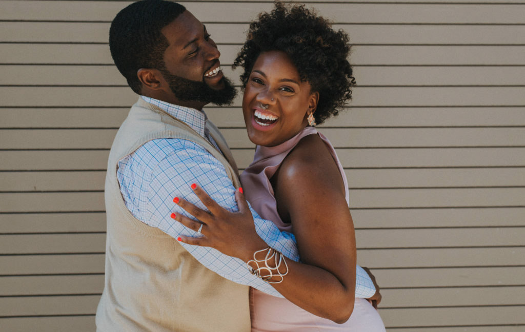 Amazing African american Destination Wedding Engagement Photogra