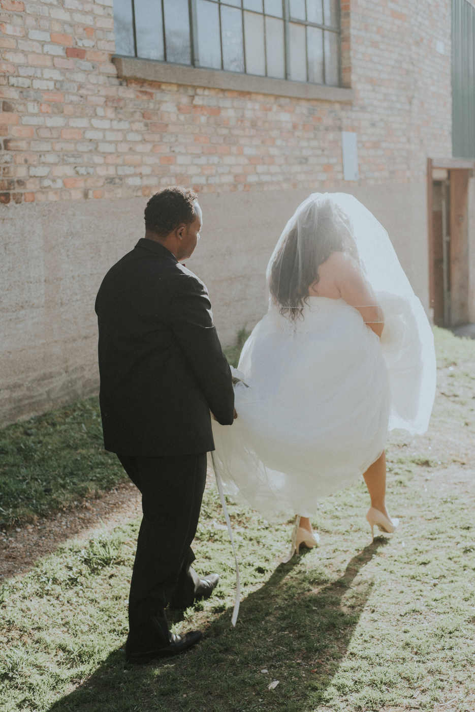 Top African American Wedding Photographer in Grand Rapids Michig