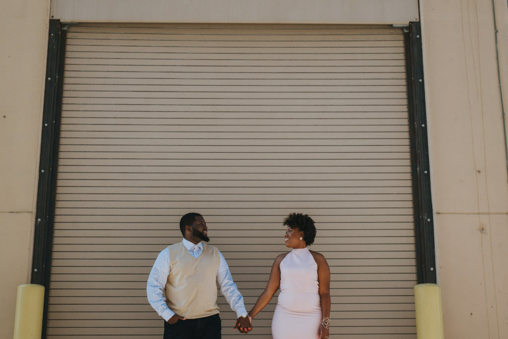 Creative Black Wedding Engagement Photographers In Grand Rapids